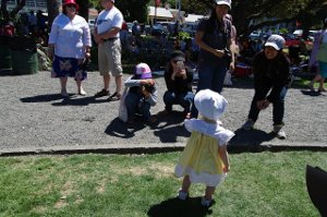 The Author's 14 month old daughter at the Gatsby Picnic