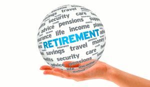 retirement globe